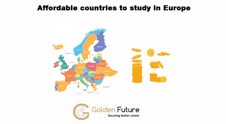 Affordable countries to study in Europe