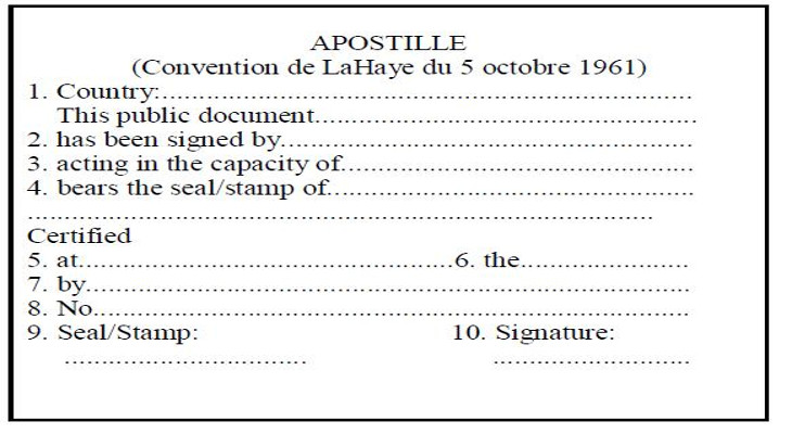 Apostille Documents