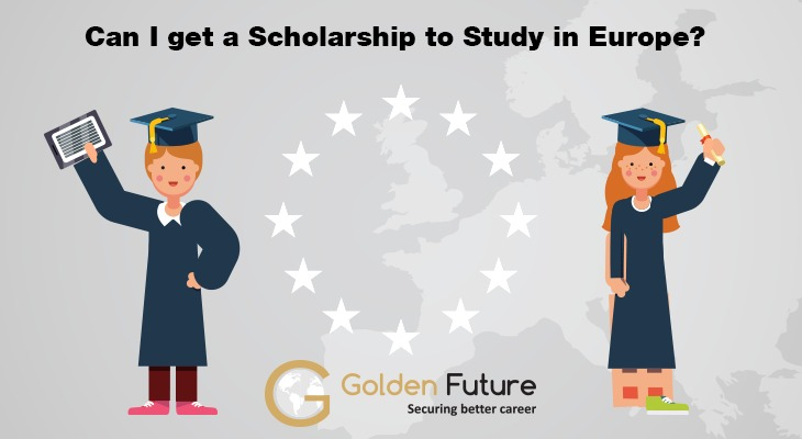 Can I get Scholarship to Study in Europe
