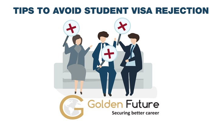 Tips to avoid student visa rejection