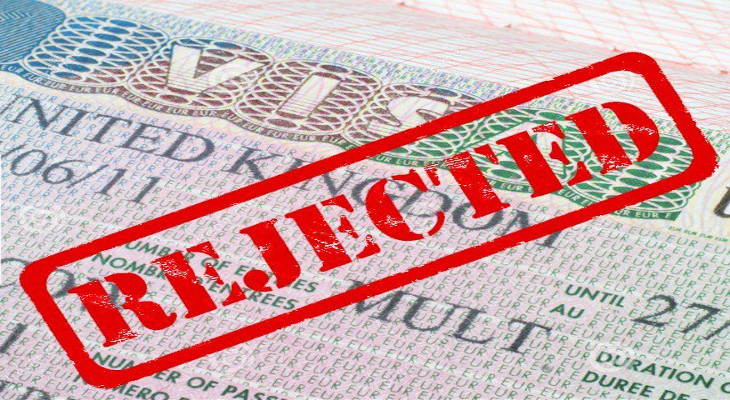 Visa fee is refunded if visa application is rejected