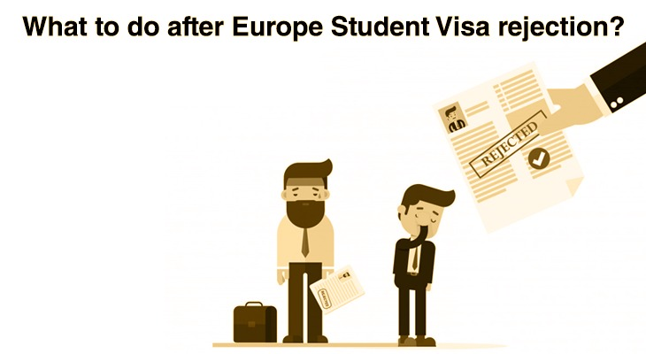 What to do after Europe Student Visa rejection?