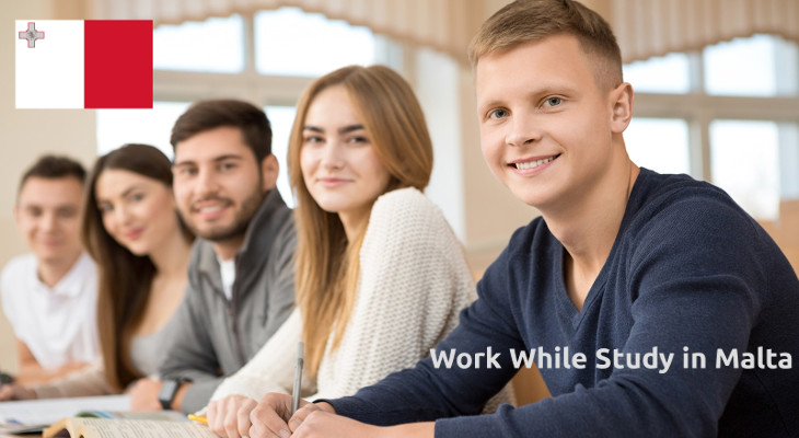 Work while study in Malta